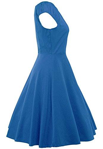 Robes Abchic Pour Les Filles Bleu
