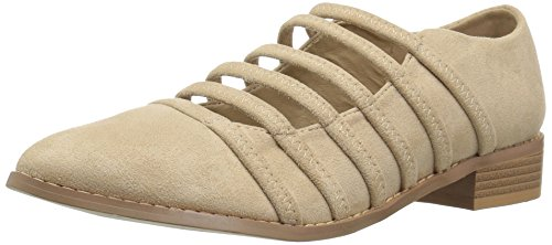 Brinley Co Women's Odessa Loafer Flat Nude uO3Ar
