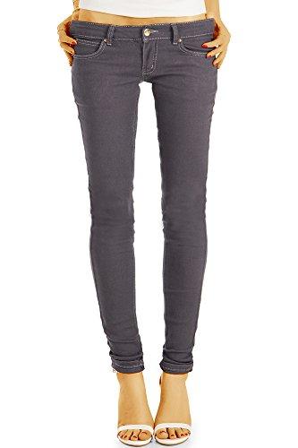 bestyledberlin - Jeans - Skinny - Femme Gris Fonc