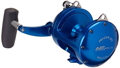 Avet 2-Speed Reel, Blue, Right (Two Speed Reels)
