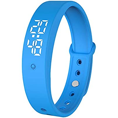 Modaworld Activity Sport Multifunctional TW6 Colorful Smart Wrist Band Sleep Sports Fitness Pedometer Bracelet Watch Fitness Tracker Watch for Men and Women Smart Wristband Estimated Price £1.82 -
