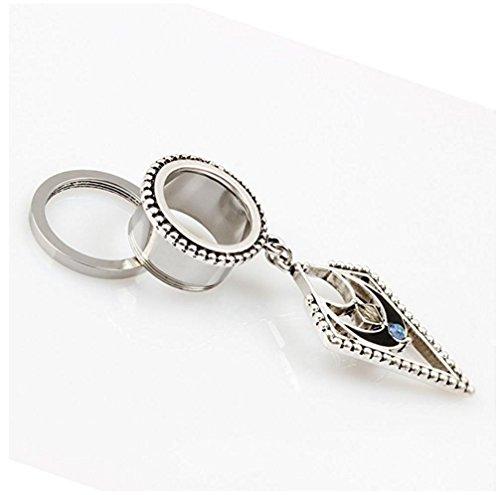 Bigbabybig Dangle Ear Plugs for Women 9/16'' Tunnels Gauges Vintage  Earrings Body Piercing Jewelry