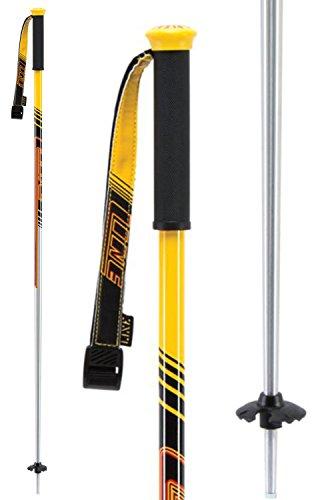 Line Men's Tac Ski Poles - Silver - 36