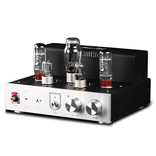 Nobsound Integrated Bluetooth EL34 Vacuum Tube Audio Amplifier HiFi Stereo Headphone Amp ()