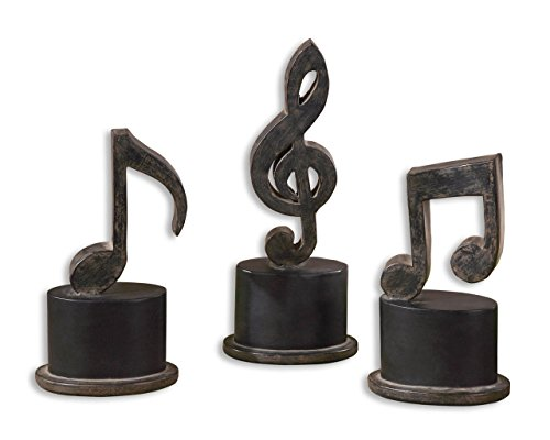 Classical Statue (Iron Musical Notes Sculpture Set | Classical Music Statues)
