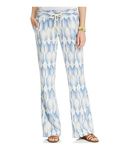 Roxy-Womens-Oceanside-Printed-Casual-Lounge-Pants-BLV6-S32