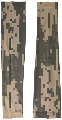 - Med Sleeve Spandex Digital Camouflage Green, Small, 2 Count