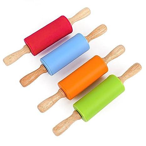 Haodasi manico in legno a rullo mattarello da cucina per mattarello ...