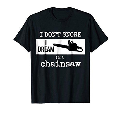 Mens Lumberjack shirt Chainsaw T-shirt logger tree cutter 3XL ()
