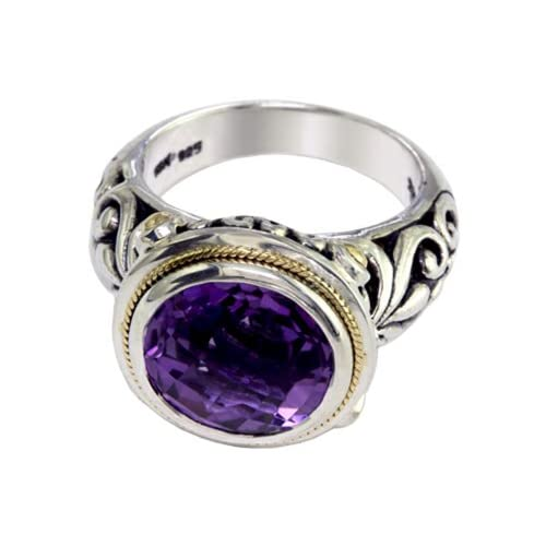 Balissima By Effy Collection Amethyst Ring Size 5