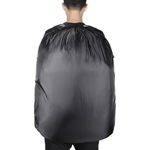 """Large Laundry Bag『36""""X26""""』,VDS Large Laundry Backpackwith 2 Strong Adjustable Shoulder Straps College Laundry BagLaundry Clothes Bag for Heavy Duty Use-Trips to Laundromat-Household Storage by VDS (Image #4)"""