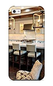 meilz aiaiNew Premium Flip Case Cover Townhouse Kitchen With White Cabinets Amp Wooden Beams Skin Case For iphone 4/4smeilz aiai