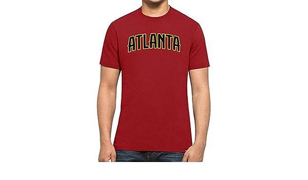 Camiseta 47 Brand - Nba Atlanta Hawks Mvp Splitter rojo talla: S (Small): Amazon.es: Deportes y aire libre