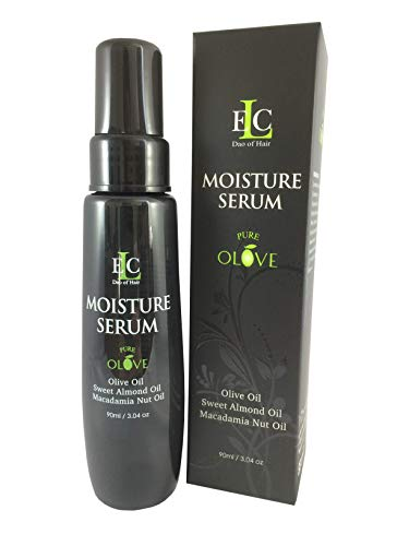 ELC Dao of Hair Pure Olove Moisturizing Serum 3.04 oz - Repair and Heal Dull Damaged Hair Delivering Brilliant Shine.
