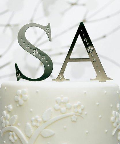 Weddingstar 4 Inch Jeweled Monogram - Letter