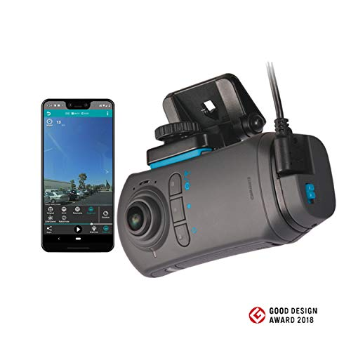 Razo DC5000A d'Action 360S Dash Camera | Dual Lens Front and Rear Recording Dash Cam | 4K HD Video | WiFi and GPS, WDR, G-Sensor, Sony Image Sensor, Includes 32GB MicroSD Memory Card Uncategorized