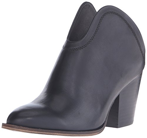 Chinese Laundry Leather Heels - Chinese Laundry Women's Kelso Bootie, Black Leather, 8 M US