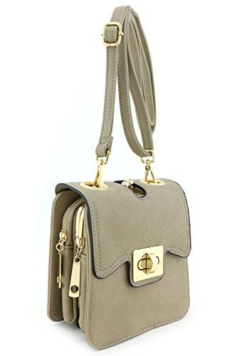 Fashion Twist Lock Flap - 1