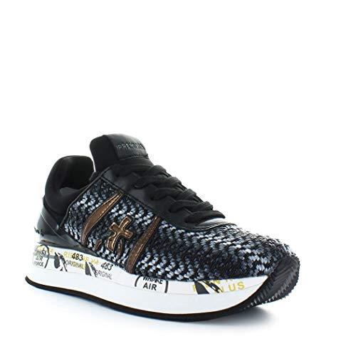 Premiata Pelle Donna Liz2549 Grigio Sneakers AAwUqZnpv