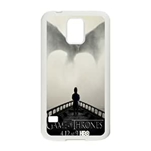 Okaycosama Game of Thrones Samsung Galaxy S5 Case Game of Thrones Protective Cute For Girls, Samsung Galaxy S5 Case Cute Girl Protective Cute For Girls [White]