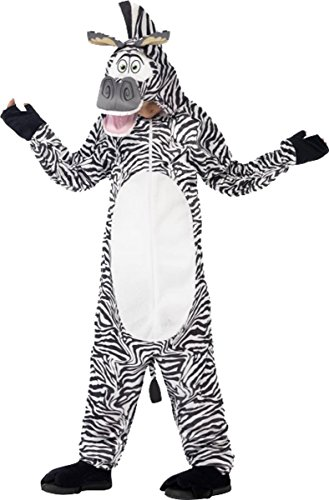 Marty The Zebra Kids Costumes (Madagascar Marty The Zebra Costume Small Age 4-6)