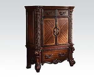 amazon com acme furniture 22006 vendome chest kitchen kitchen amp dining room furniture buy kitchen amp dining