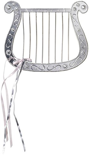 Costumes Of Angel (Silver Plated Angel Harp for Angel Costumes)