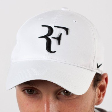 NIKE RF HYBRID CAP (ADULT UNISEX) (White/Black, One Size) by NIKE