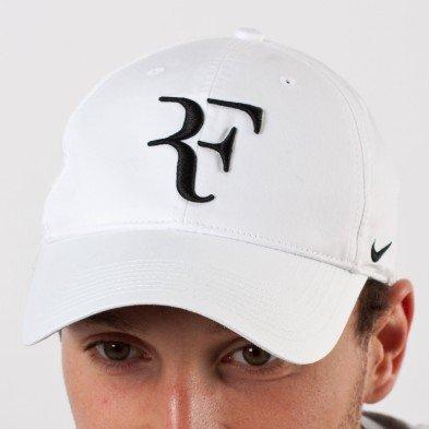 f536ddd0 Nike RF Hybrid Cap (Adult Unisex) (White/Black, One Size) - Import It All