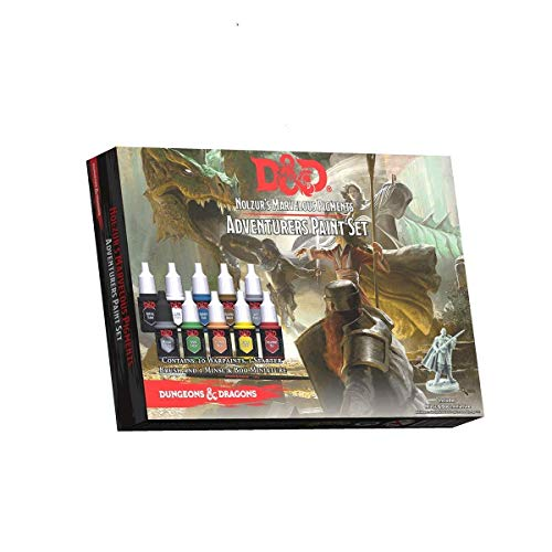 Stronger Starter Kit - The Army Painter Dungeons and Dragons Official Paint Line Adventurer's Paint Set
