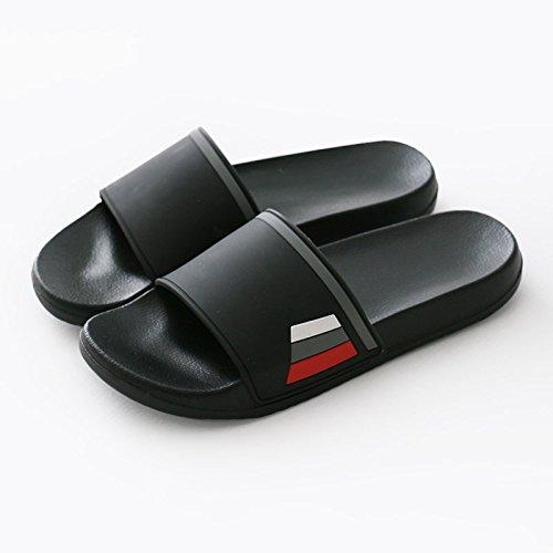 nero home 43 interni elegante pantofole cool spessa doccia morbida femmina Fankou e uomini antiscivolo bagno estate nbsp;Pantofole 42 coppie AnUIq
