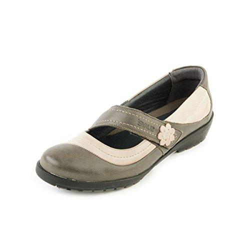 Suave Para Mujer De Cordones Beige Otra Piel Zapatos Olive rF1XqTwrg