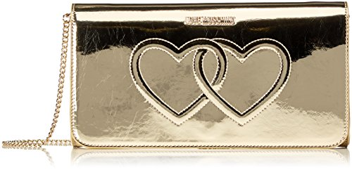 Gold JC4301PP04KL0900 Love Moschino Dorado Bolso Bandolera Mujer cm 13x26x5 YzxPz