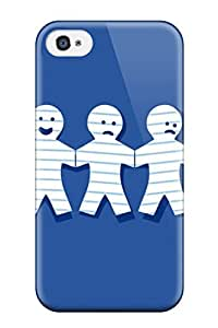 High Quality Bareetttt Funny Paperdolls Skin Case Cover Specially Designed For Iphone - 4/4s by icecream design