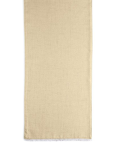 HomeCrate Luxurious French Perle Collection Solid Table Runner 14