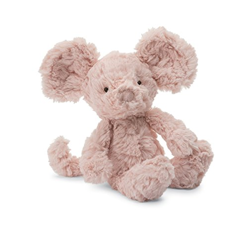 Jellycat Squiggle Mouse Stuffed Animal, Small, 9 inches