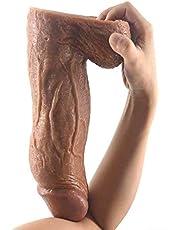 ZHLZZ Big Thick Dildo Gran Pene Artificial Godemichets Realista Íntimo Artículos para Las Mujeres Juguetes Sexis Dildos Extra Grande King Cock