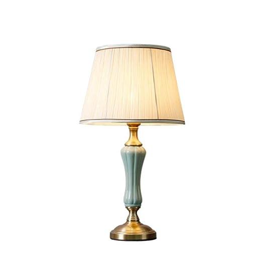 de de cerámica la SACYSAC de lámpara Mesa Dormitorio lámpara b6yf7g