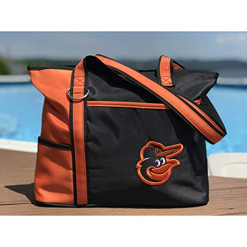 Charm14 MLB Baltimore Orioles Womens Tote Bag with Embroidered Logo by Little Earth