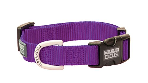 Terrain D.O.G. Nylon Adjustable Snap-N-Go Dog Collar