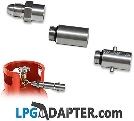 LPG GPL – adaptador para bombona de gas propano para caravanas y campamentos