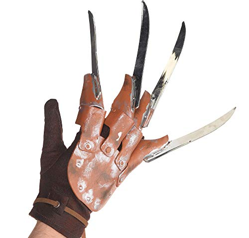 Suit Yourself Freddy Krueger Glove Halloween Costume Accessory for Adults, A Nightmare on Elm Street, One -