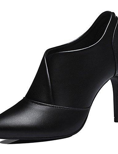 Textiles mujeres zapatos primavera invierno amp; eu36 black o eu36 de ZQ black aguja partido com¨²n amp; uk4 Home oto carrera oficina talones sint¨¦tica cn39 tac¨®n las us6 uk6 eu39 us6 us8 noche de black cn36 cn36 uk4 de rwqzwEX