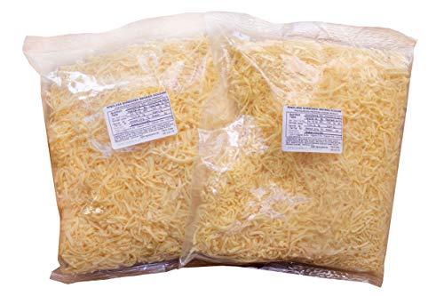 Dutch Garden Shredded, Naturally Smoked Goudam, 2, 2 Lb bags (4 Pounds Total)