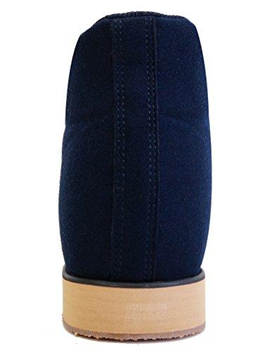 MNX15 Womens Elevator Shoes Height Increase 3.1 MONACO NAVY Navy 83UJAwU