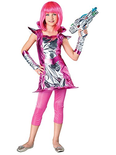 Seasons USA Light Up Cosmic Girl Child Costume Treat Safety (Cosmic Girl Costume)
