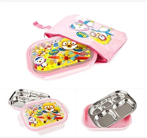 Lunch Box Bento Pororo Character Toys Thermal Insulated Lunch Box