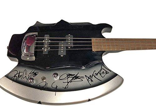 Gene simmons axe bass guitar