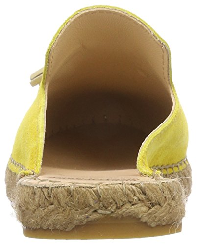 Yellow Taupe la Mustard de Brown Fred 6021 Bretoniere Loafers Yellow Women's Slipper vgS0qw