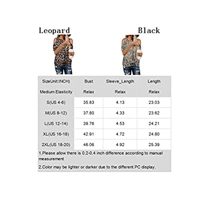 BLENCOT Women Summer Leopard Print T Shirts Crewneck Cold Shoulder Twist Tops Short Sleeve Blouses Work White S at Women's Clothing store